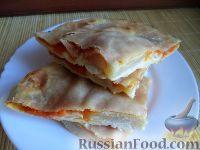 Фото к рецепту: «Плацинда» - пирог с тыквой по-молдавски