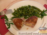 Фото к рецепту: Котлеты с картофельной начинкой