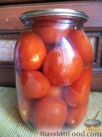 Фото к рецепту: Простые маринованные помидоры