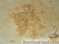 Фото приготовления рецепта: Гренки с чесночным соусом - шаг №2