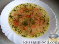 Фото к рецепту: Суп из капусты, картофеля, моркови, луковицы и помидоров
