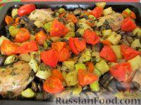 Фото к рецепту: Овощное рагу с курицей