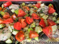 Фото приготовления рецепта: Овощное рагу с курицей - шаг №15