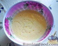 Фото приготовления рецепта: Заливной пирог со сливами - шаг №4