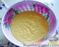 Фото приготовления рецепта: Заливной пирог со сливами - шаг №6