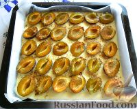 Фото приготовления рецепта: Заливной пирог со сливами - шаг №8