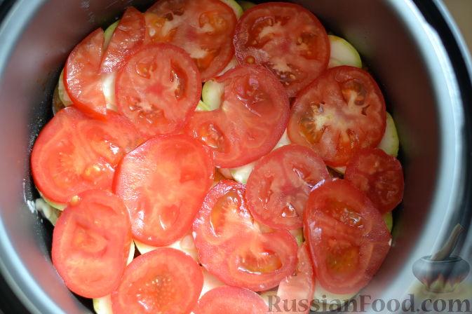 Фото приготовления рецепта: Рататуй в мультиварке-скороварке - шаг №11