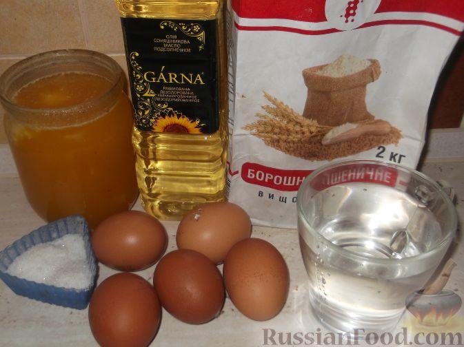 хворост с медом рецепт с фото