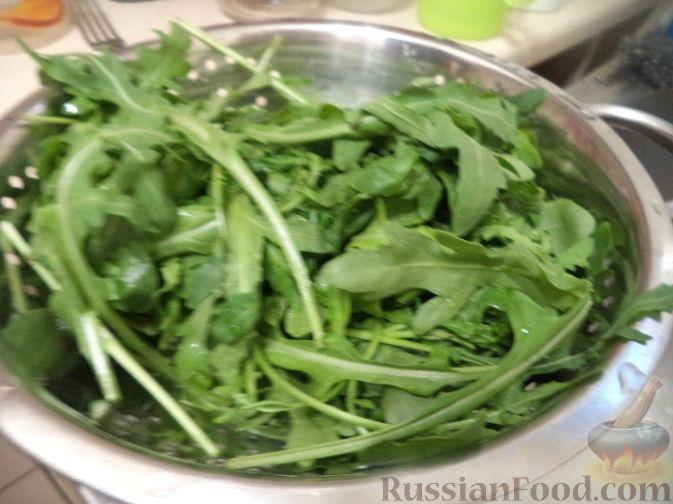 Как сделать салат теплый