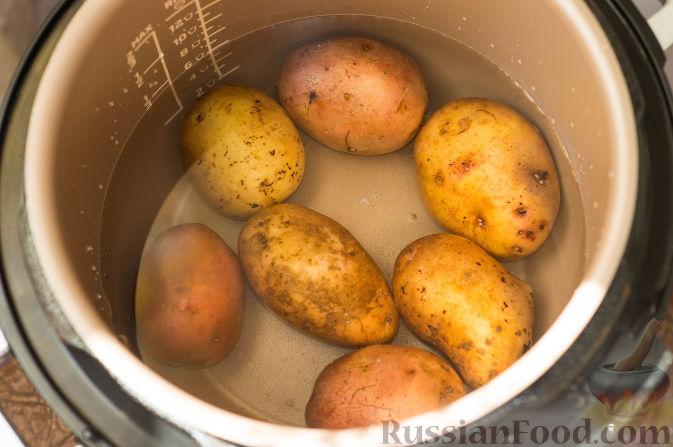 картофель в мультиварке скороварке рецепты с фото