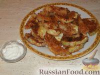 Фото к рецепту: Капуста кольраби жареная
