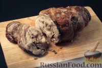 Фото приготовления рецепта: Рулет из свинины - шаг №5