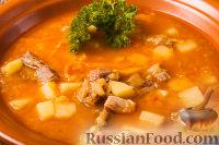 Фото к рецепту: Суп из красной чечевицы