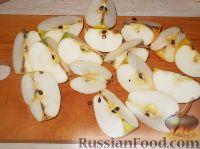 Фото приготовления рецепта: Карамелизованные яблоки - шаг №4