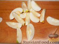 Фото приготовления рецепта: Карамелизованные яблоки - шаг №5