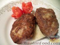 Фото к рецепту: Котлеты из куриных сердечек