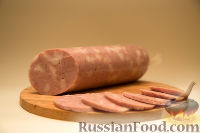 Фото к рецепту: Домашняя вареная колбаса