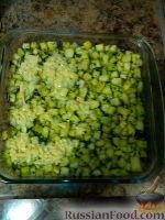 Фото приготовления рецепта: Кабачки, запеченные с сыром - шаг №5