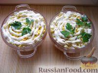 Фото к рецепту: Простой мясной салат