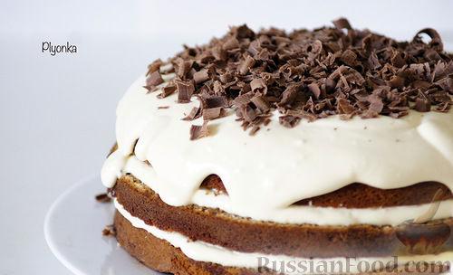 Сырный тирамису торт