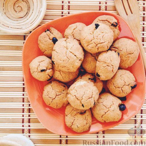 Печенье за 5 минут с изюмом - Пятиминутка, рецепт с фото ...