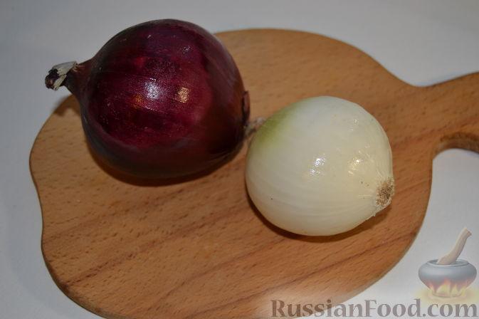 Фото приготовления рецепта: Салат с курицей и виноградом - шаг №2