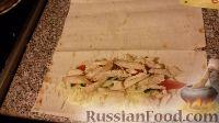 Фото приготовления рецепта: Шаурма с курицей в домашних условиях - шаг №13