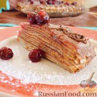 Фото к рецепту: Блинный торт
