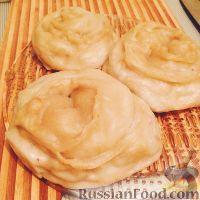 Фото к рецепту: Манты-розочки
