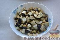 Фото приготовления рецепта: Соте из баклажанов, перца и помидоров - шаг №1