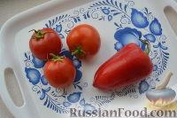 Фото приготовления рецепта: Соте из баклажанов, перца и помидоров - шаг №5