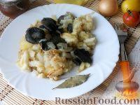 Фото к рецепту: Картошка с грибами