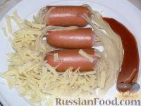 """Фото к рецепту: """"Волосатые"""" сосиски"""
