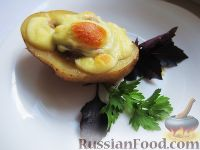 Фото к рецепту: Картофель фаршированный