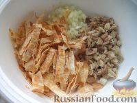 Фото приготовления рецепта: Салат «Нежность» из курицы - шаг №10