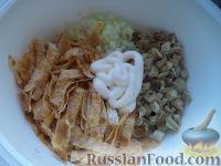 Фото приготовления рецепта: Салат «Нежность» из курицы - шаг №11
