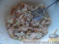Фото приготовления рецепта: Салат «Нежность» из курицы - шаг №12
