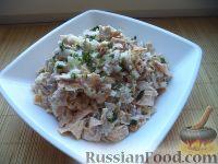 Фото приготовления рецепта: Салат «Нежность» из курицы - шаг №13