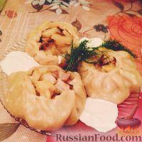 Фото к рецепту: Позы с картофелем и мясом (буузы)