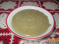 Фото к рецепту: Суп-пюре из шампиньонов и картофеля