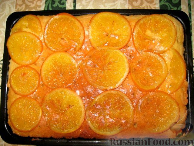 апельсиновый десерт рецепт