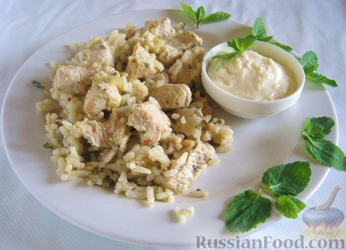 Рецепт Куриное филе, приготовленное в духовке