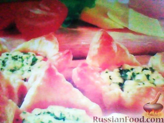 Рецепт Пирожки с помидорами