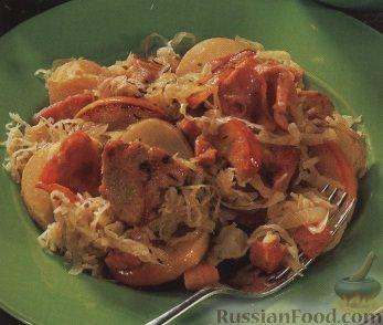 Рецепт Картофельно-мясное рагу