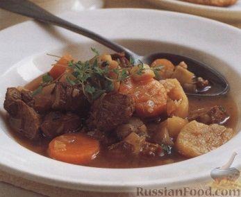 Рецепт Деревенский суп с бараниной