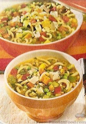 Рецепт Овощной супчик
