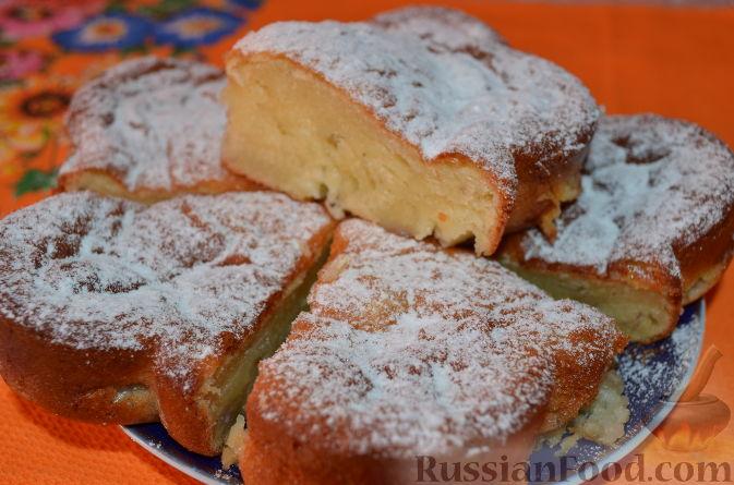Рецепт Пирог Творожно-банановое чудо