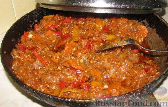 рецепт блюда из баклажанов