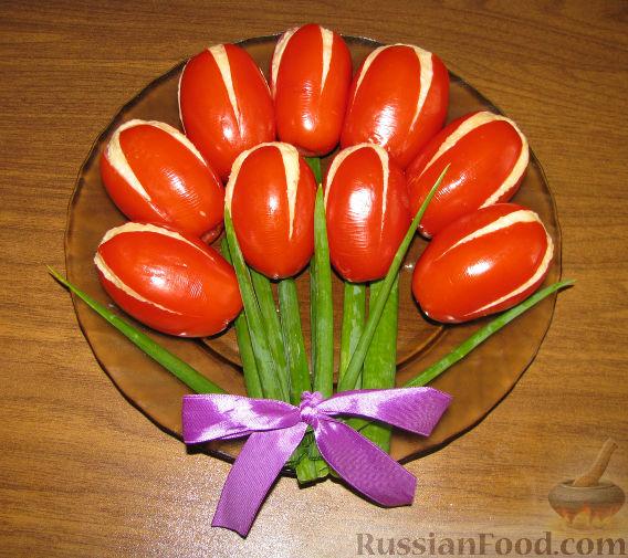 """Рецепт Закуска """"Тюльпаны"""""""