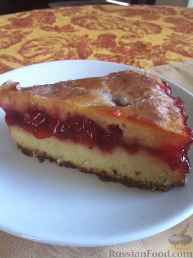 Фото приготовления рецепта: Постный яблочный пирог - шаг №5